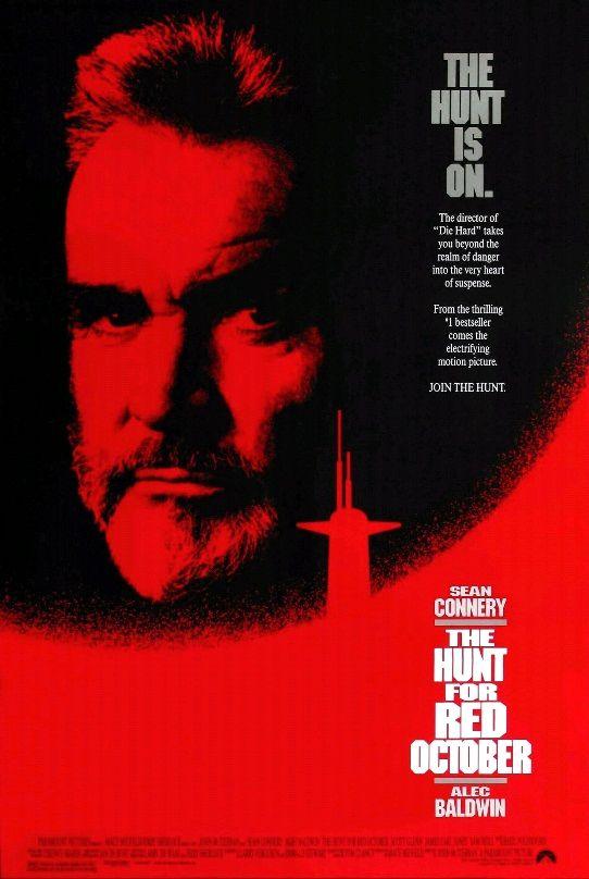 Охота за «Красным октябрём» / The Hunt for Red October (1990): постер