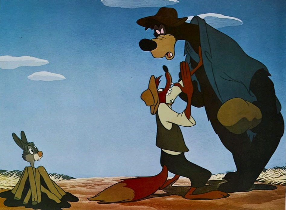 an analysis of a scene in song of the south a 1946 disney film Characters in song of the south br'er fox is a character from the 1946 disney feature film song of the south.