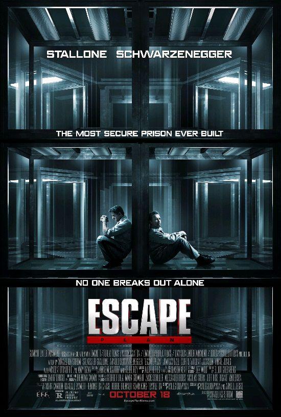 План побега / Escape Plan (2013): постер