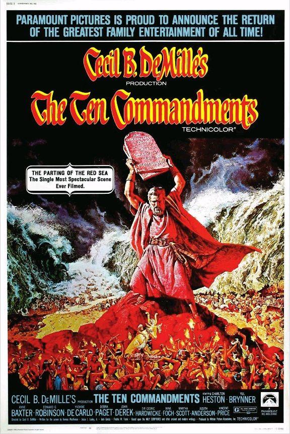 Десять заповедей / The Ten Commandments (1956): постер