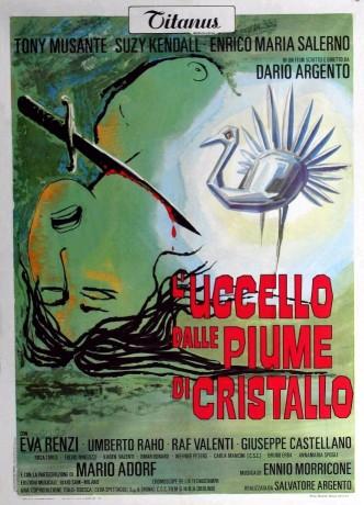 Птица с хрустальным оперением / L'uccello dalle piume di cristallo (1970)