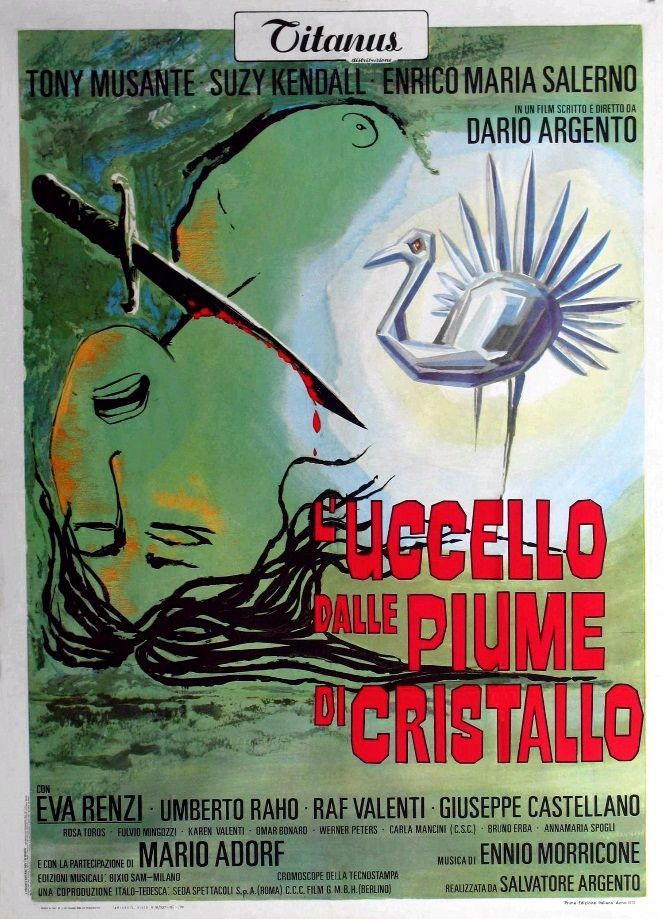 Птица с хрустальным оперением / L'uccello dalle piume di cristallo (1970): постер