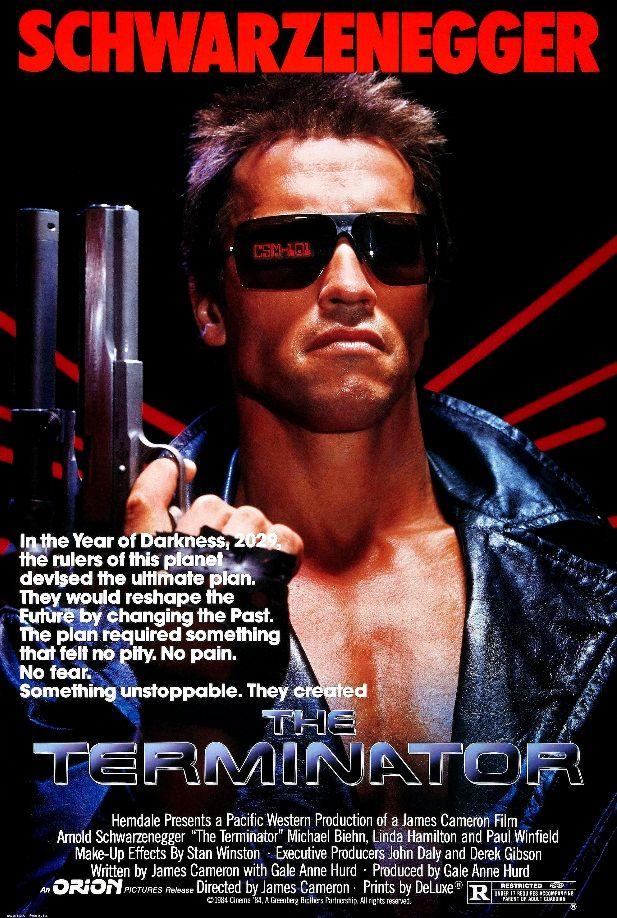 Терминатор / The Terminator (1984): постер