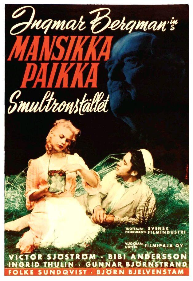 Земляничная поляна / Smultronstället (1957): постер
