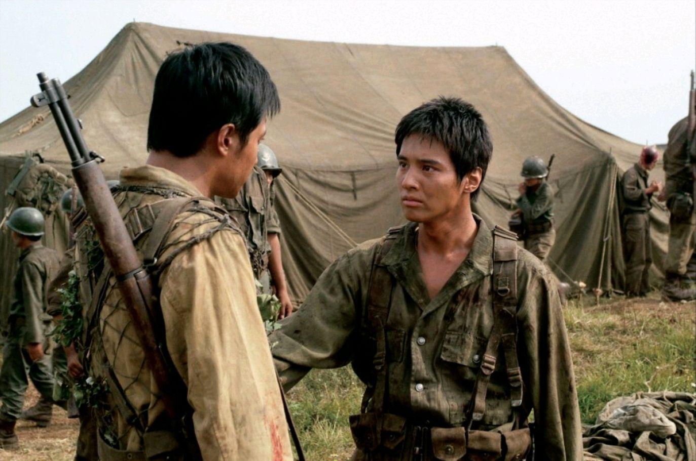 38-я параллель / Taegukgi hwinalrimyeo (2004): кадр из фильма