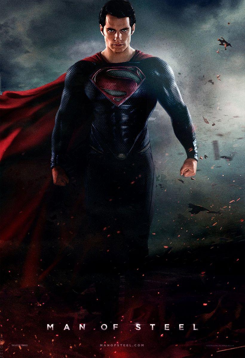 Человек из стали / Man of Steel (2013): постер