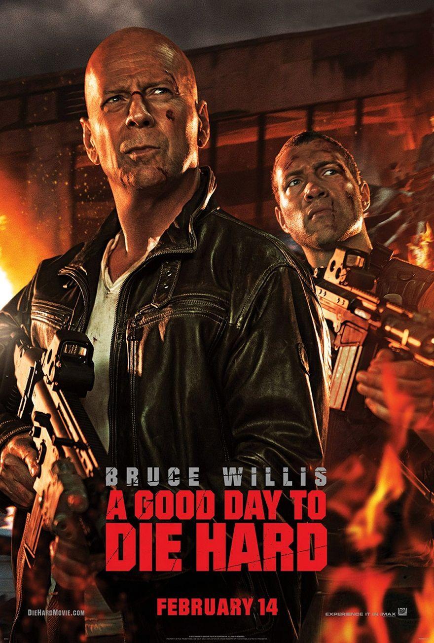 Крепкий орешек: Хороший день, чтобы умереть / A Good Day to Die Hard (2013): постер