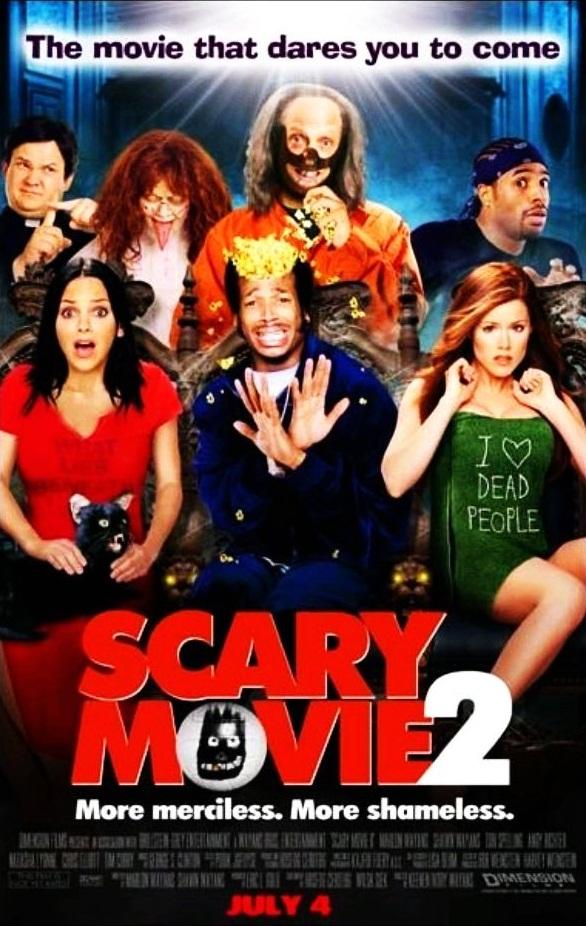 Очень страшное кино 2 / Scary Movie 2 (2001): постер