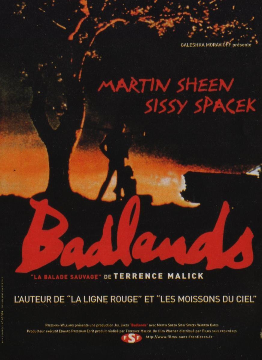 Пустоши / Badlands (1973): постер
