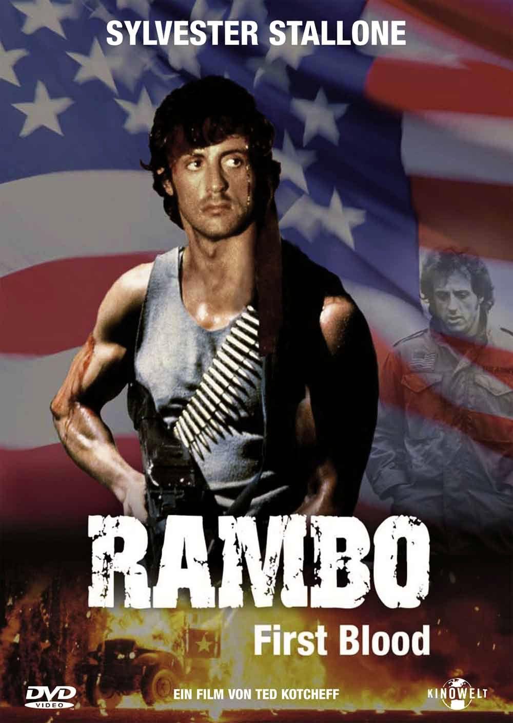 Рэмбо: Первая кровь / First Blood (1982): постер