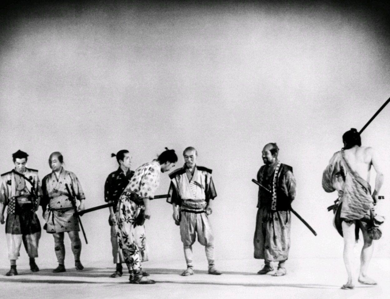 Семь самураев / Shichinin no samurai (1954): кадр из фильма