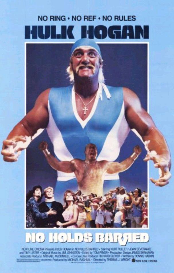 Все захваты разрешены / No Holds Barred (1989): постер