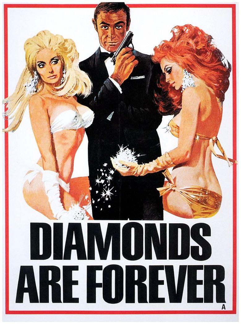 Бриллианты навсегда / Diamonds Are Forever (1971): постер