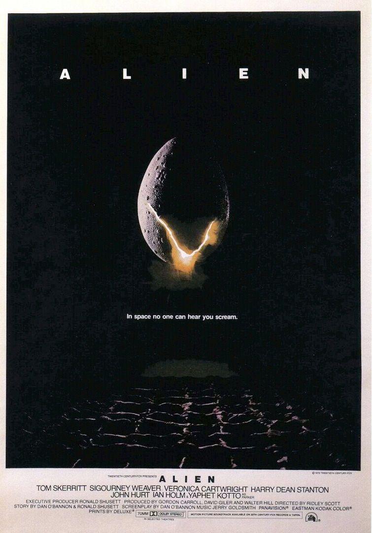 Чужой / Alien (1979): постер