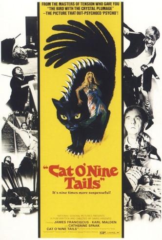 Кошка о девяти хвостах / Il gatto a nove code / Le chat à neuf queues / Die neunschwänzige Katze (1971)