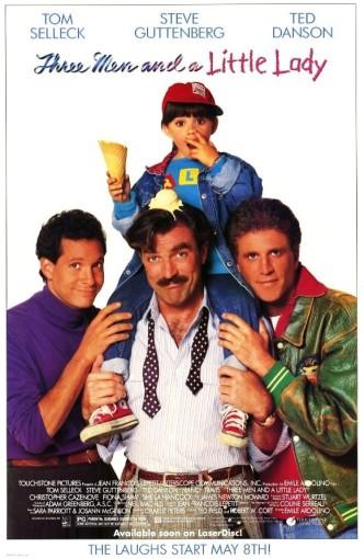 Трое мужчин и маленькая леди / 3 Men and a Little Lady (1990)