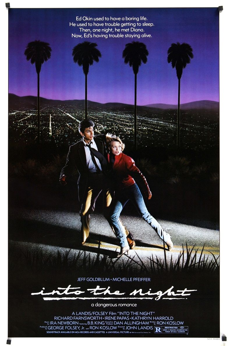 В ночи / Into the Night (1985): постер
