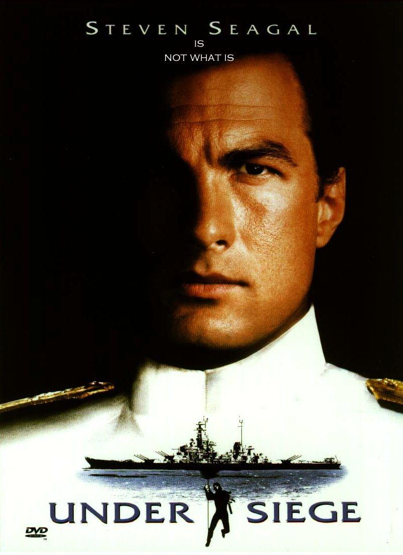 В осаде / Under Siege (1992): постер