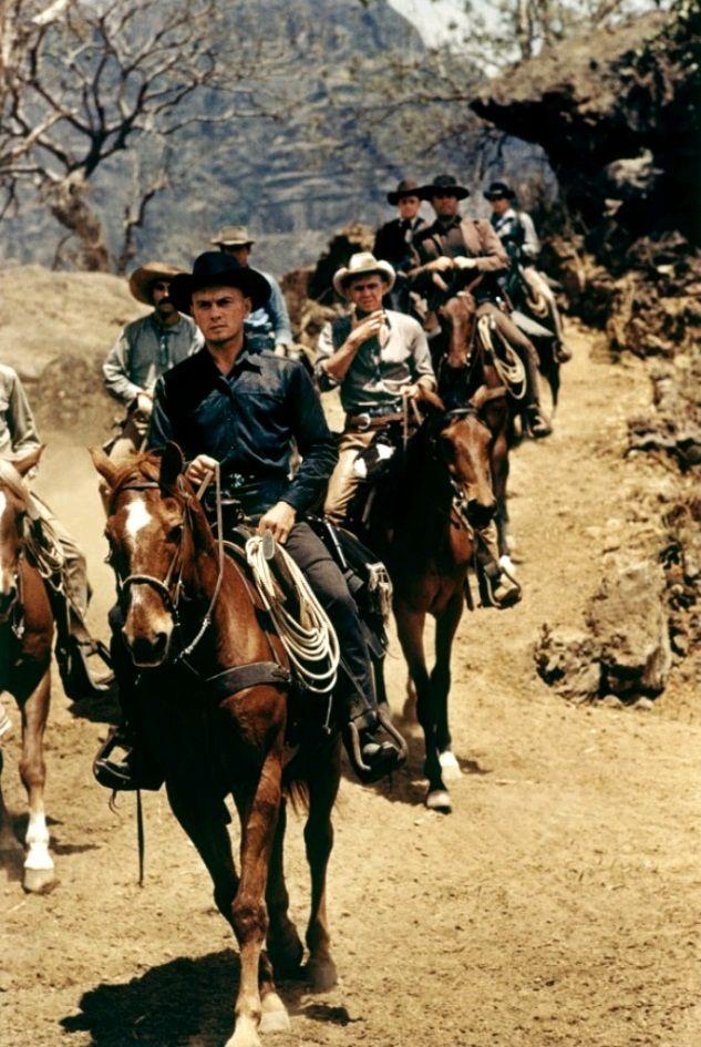 Великолепная семёрка / The Magnificent Seven (1960): кадр из фильма