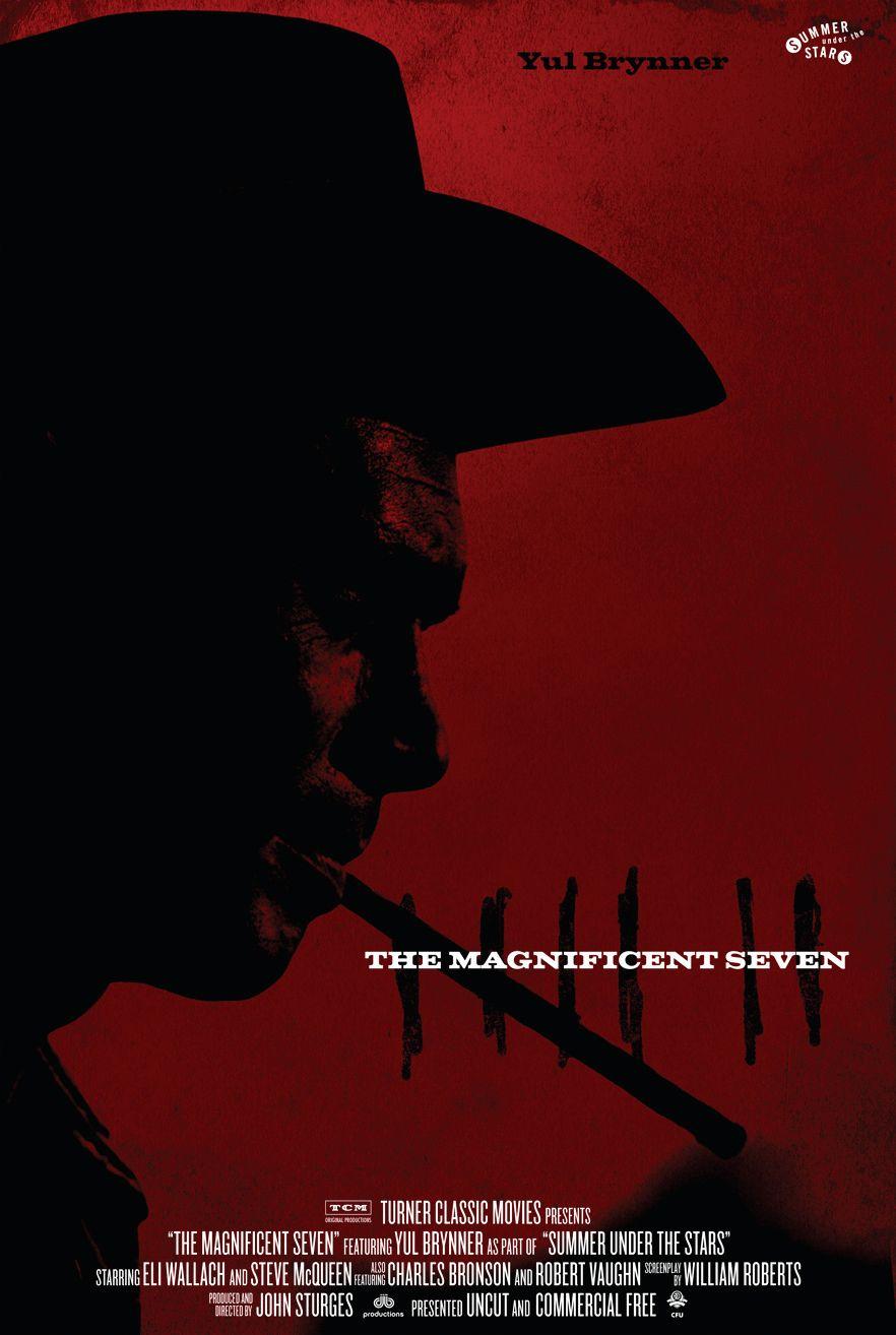 Великолепная семёрка / The Magnificent Seven (1960): постер