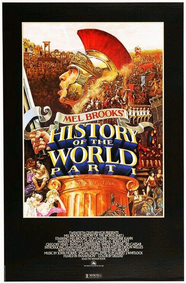 Всемирная история, часть первая / History of the World: Part I (1981): постер