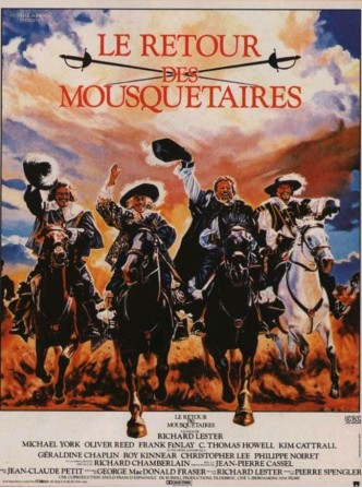 Возвращение мушкетёров / The Return of the Musketeers / Le retour des mousquetaires / El regreso de los mosqueteros (1989)