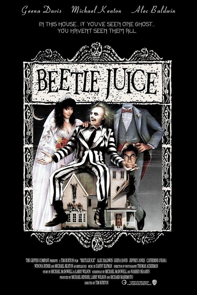 Битлджус / Beetlejuice (1988): постер
