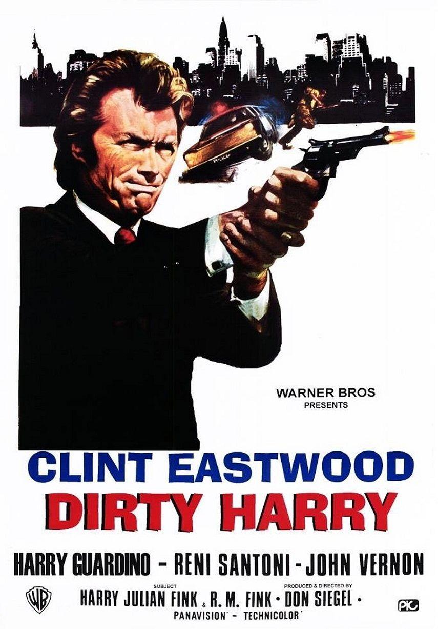 Грязный Гарри / Dirty Harry (1971): постер