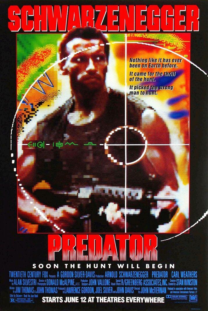 Хищник / Predator (1987): постер