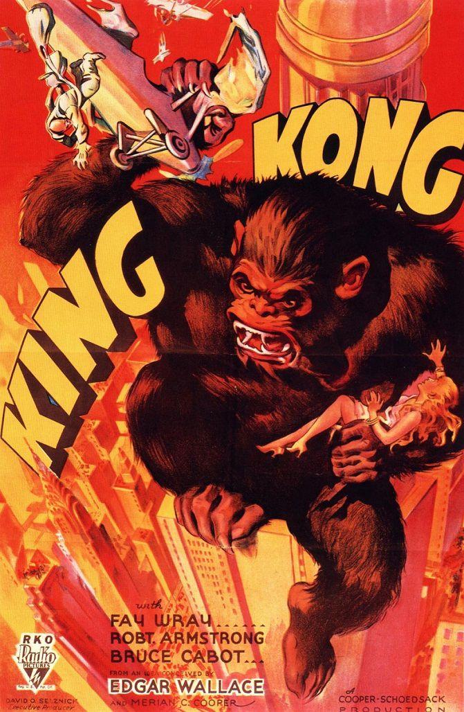 Кинг Конг / King Kong (1933): постер