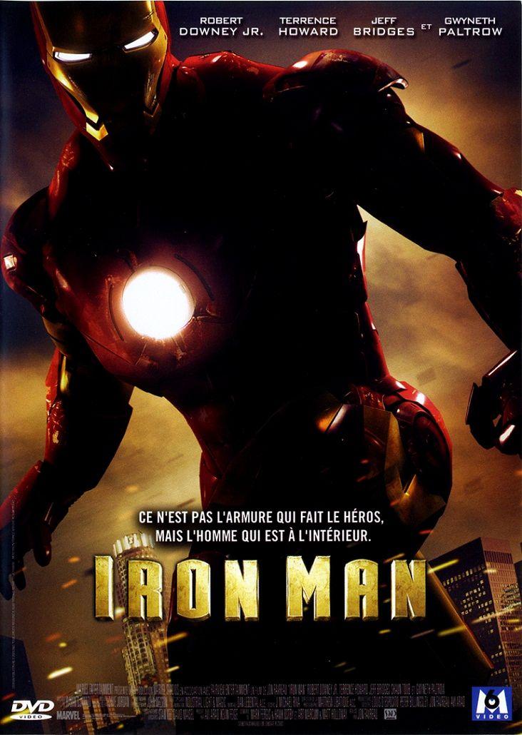 Железный человек / Iron Man (2008): постер