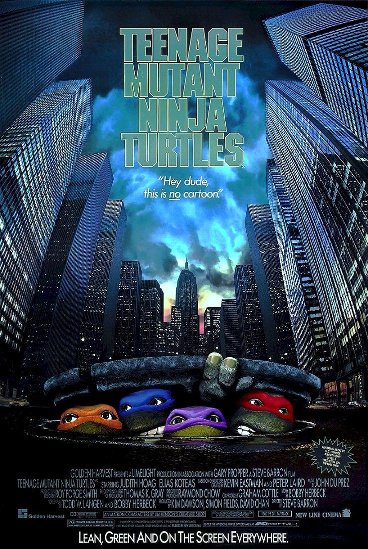 Черепашки-ниндзя / Teenage Mutant Ninja Turtles (1990): постер