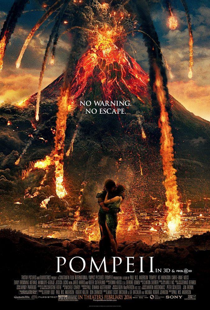 Помпеи / Pompeii (2014): постер