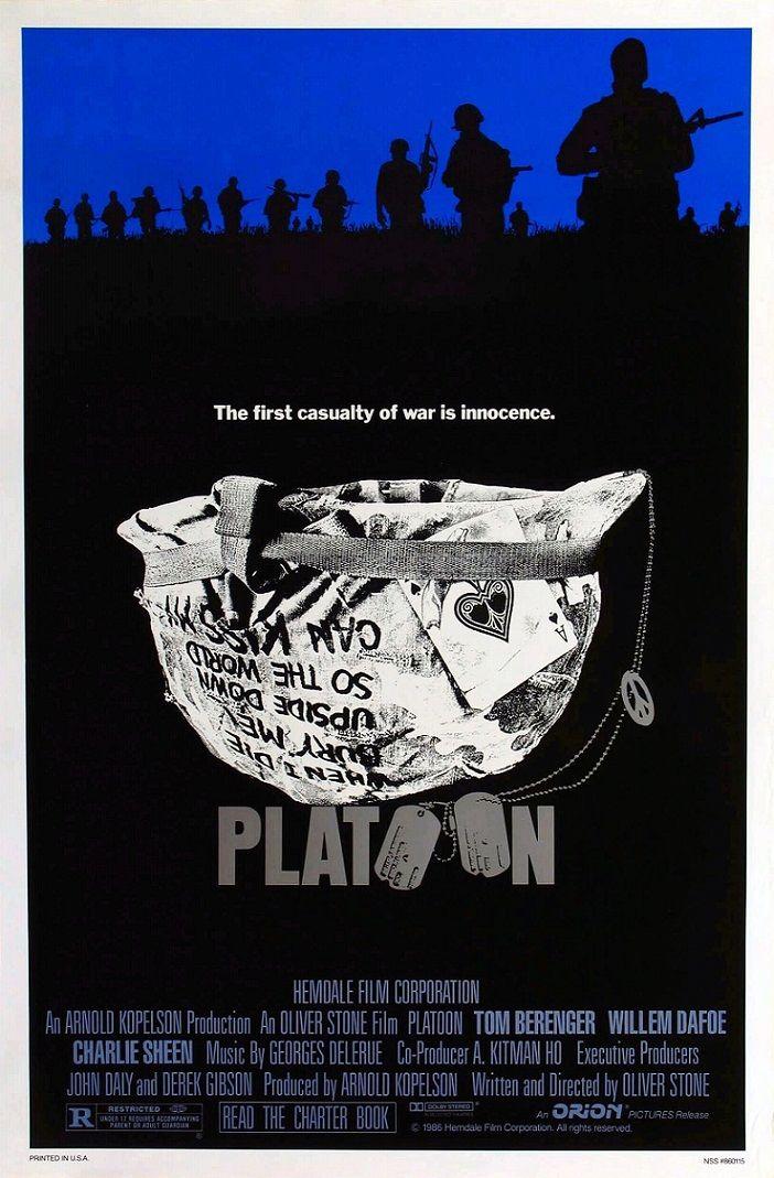 Взвод / Platoon (1986): постер