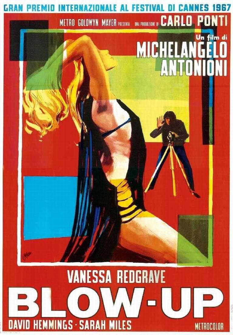 Фотоувеличение / Blowup / Blow-Up (1966): постер