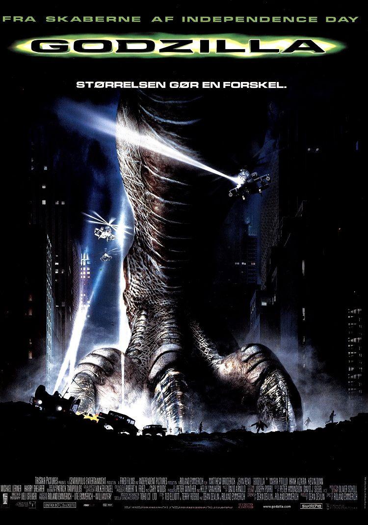 Годзилла / Godzilla / Gojira (1998): постер