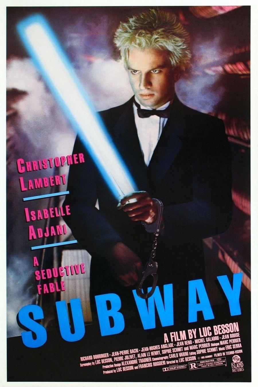 Подземка / Subway (1985): постер