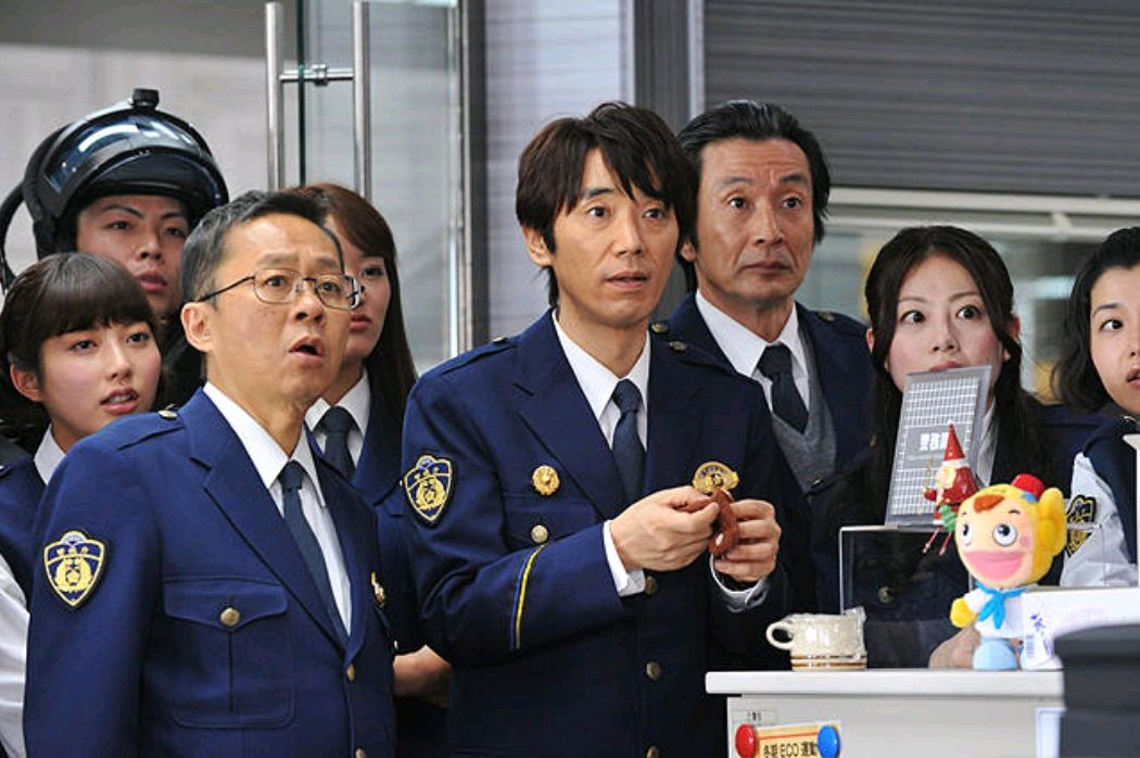 Ритм и полиция / Odoru daisosasen (1998): кадр из фильма