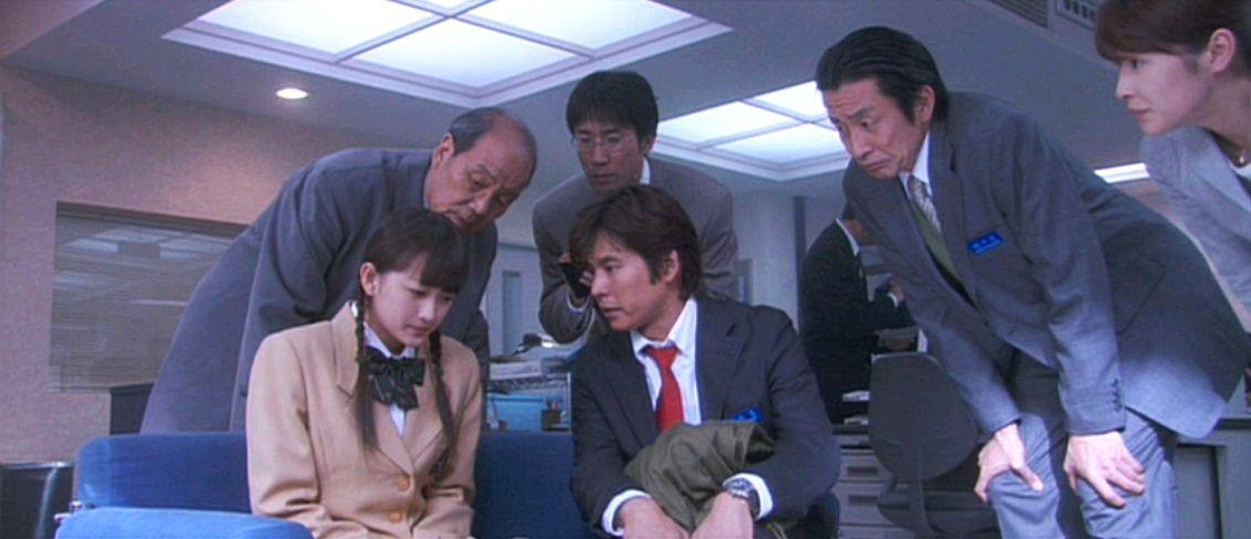 Ритм и полиция / Odoru daisosasen (1998): калр из фильма