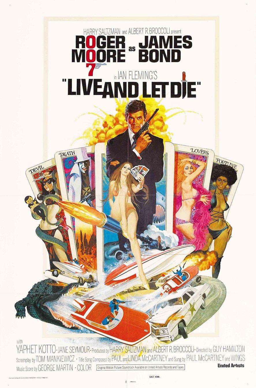 Живи и дай умереть / Live and Let Die (1973): постер