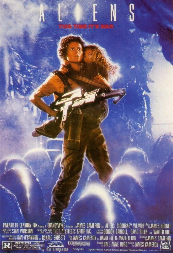Чужие / Aliens (1986): постер