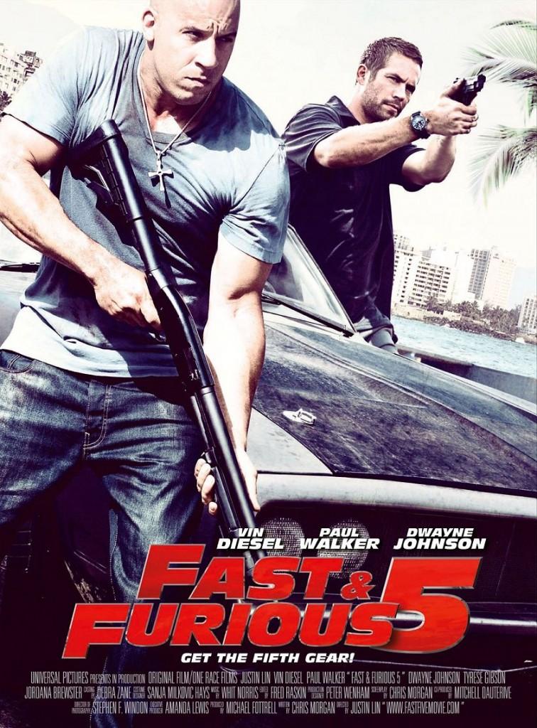 Форсаж 5 / Fast Five (2011): постер