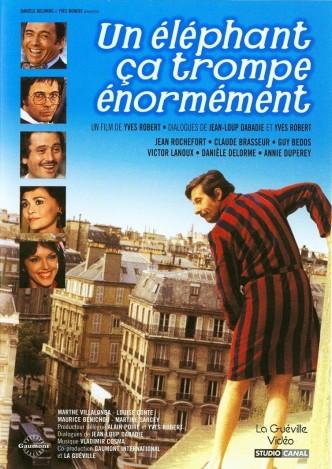 И слоны бывают неверны / Un éléphant ça trompe énormément (1976): постер