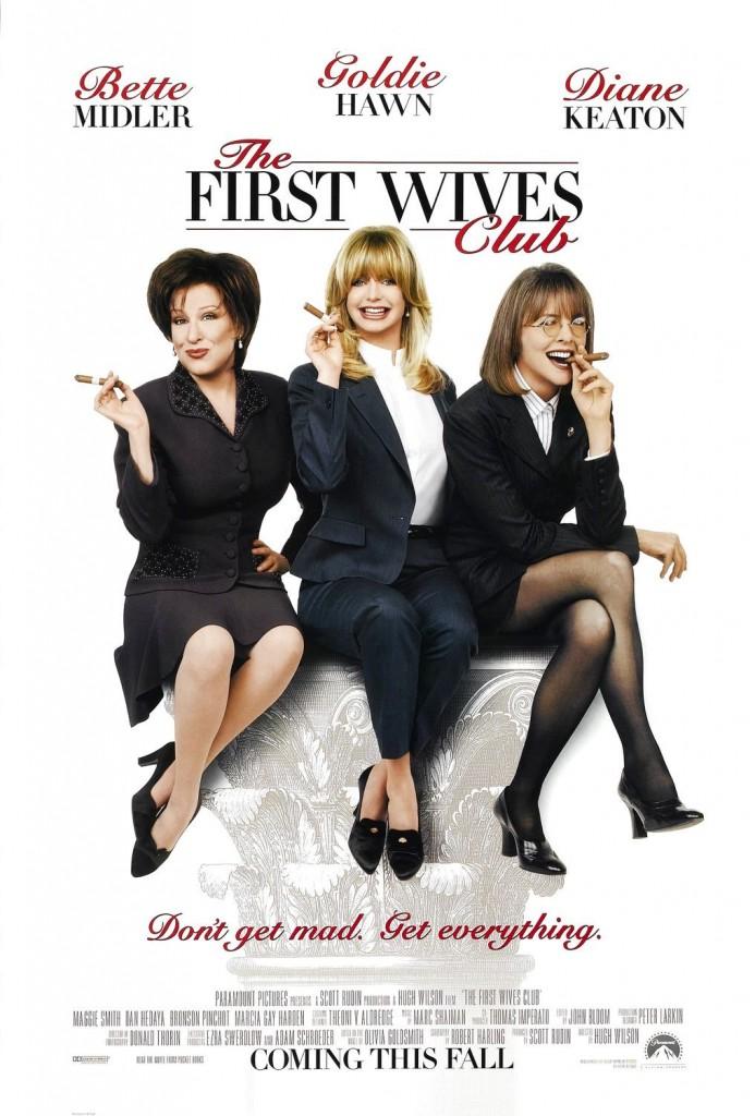 Клуб первых жён / The First Wives Club (1996): постер