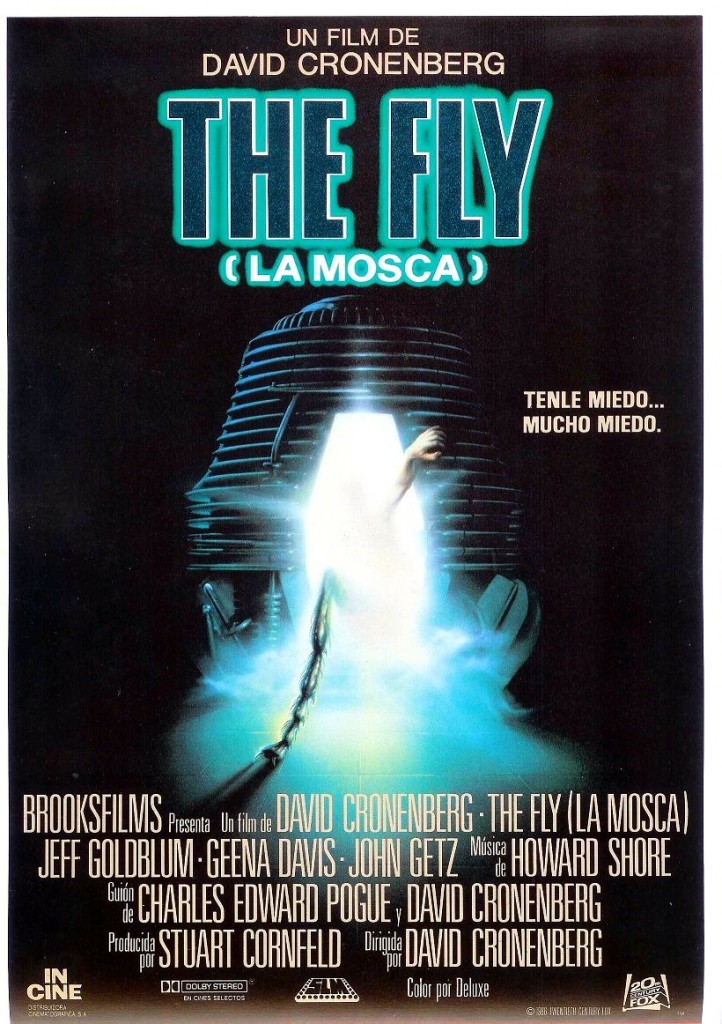 Муха / The Fly / La mouche (1986): постер