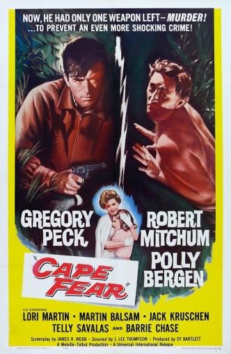 Мыс страха / Cape Fear (1962): постер