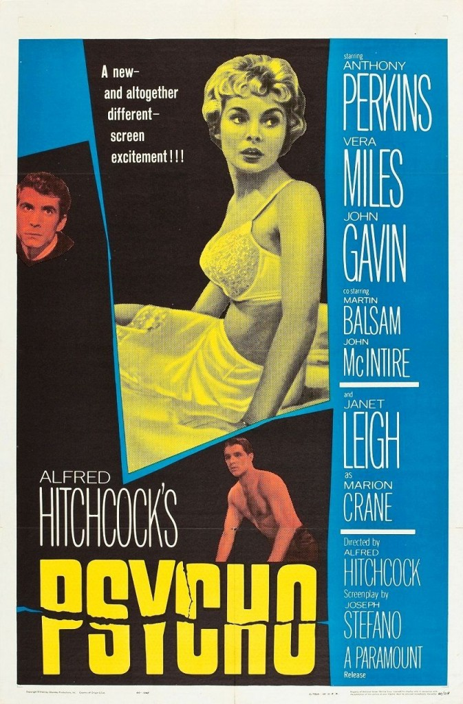 Психо / Psycho (1960): постер