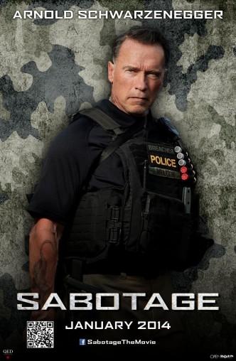 Саботаж / Sabotage (2014): постер