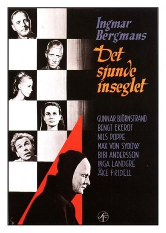 Седьмая печать / Det sjunde inseglet (1957): постер