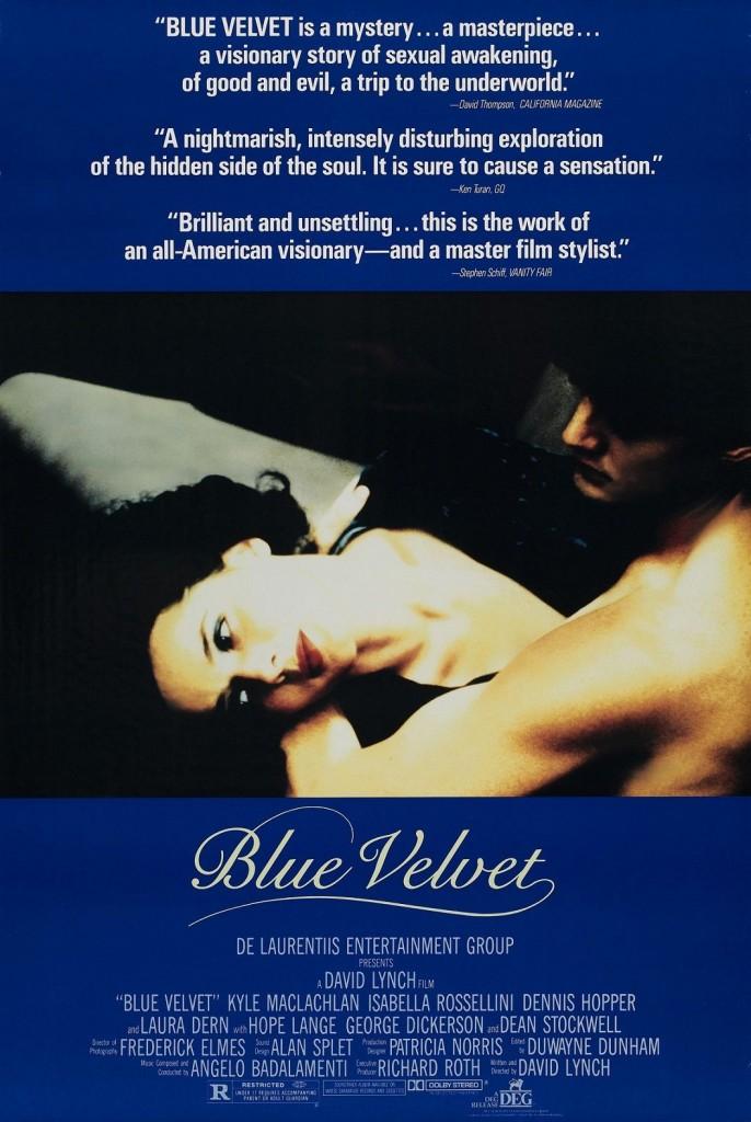 Синий бархат / Blue Velvet (1986): постер